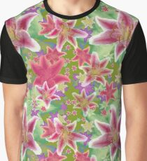 Stargazer Lily Graphic T-Shirt