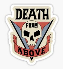 Starship Troopers - Death From Above Sticker