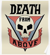Starship Troopers - Death From Above Poster