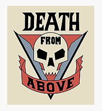 Starship Troopers - Death From Above Photographic Print