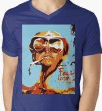 Fear and Loathing in Las Vegas Painting Men's V-Neck T-Shirt