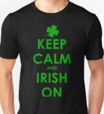 Keep Calm and Irish on T-Shirt