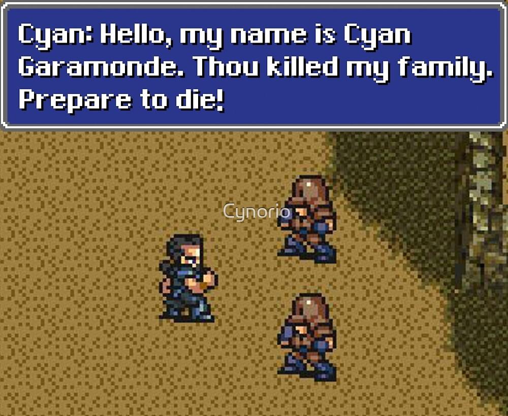 Prepare to Die by Cynorio
