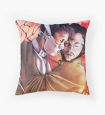 We are conjoined Throw Pillow