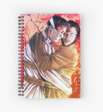 We are conjoined Spiral Notebook