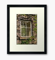 Looking Through The Window... Framed Print