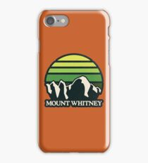 Mount Whitney | Mountain Sun iPhone Case/Skin