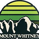 Mount Whitney | Mountain Sun by retroready