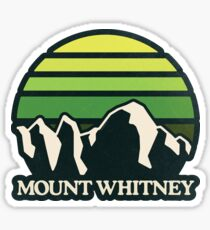 Mount Whitney | Mountain Sun Sticker