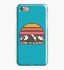 Adventure Awaits | Mountain Sun iPhone Case/Skin