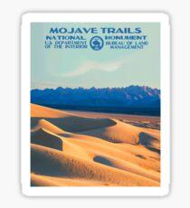 Vintage Travel Poster – Mojave Trails Sticker