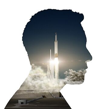 Elon Musk Launch Silhouette by lurchmerch
