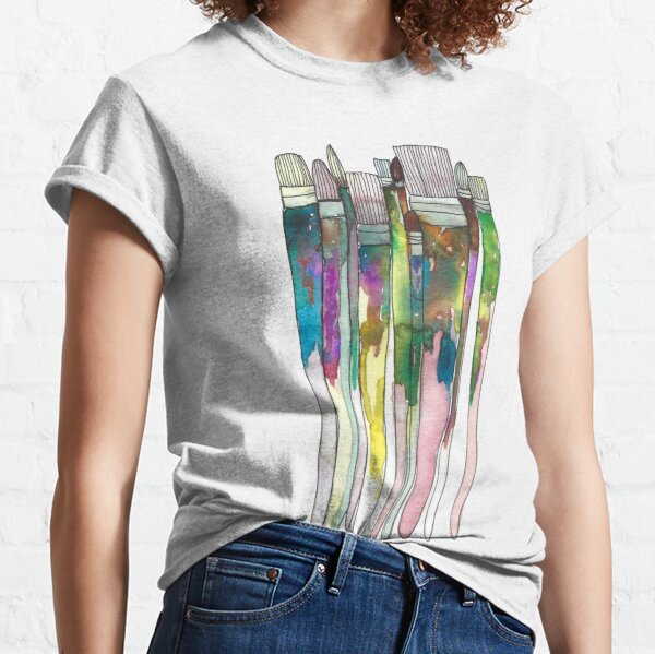 Paintbrushes Classic T-Shirt