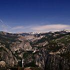 Half Dome, Vernal and Nevada Falls, Yosemite National Park by HeavenOnEarth