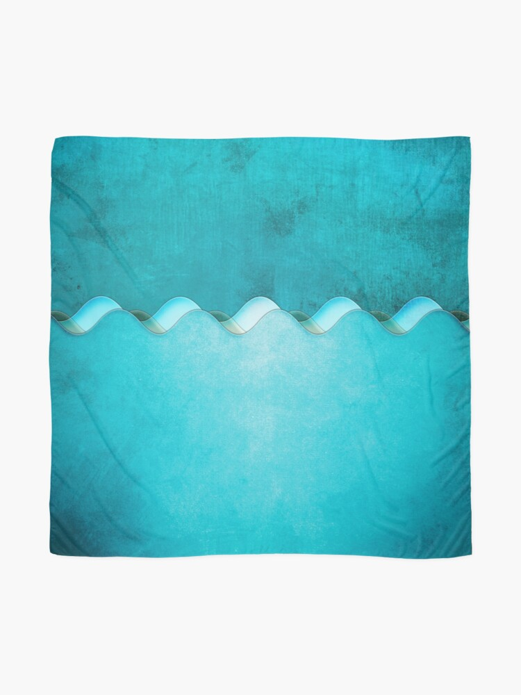 Alternate view of Along the Shores of Clear Bays Scarf