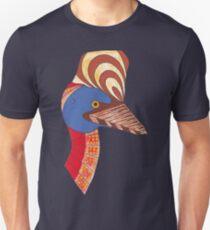 Australian Aboriginal Art - Cassowary T-Shirt