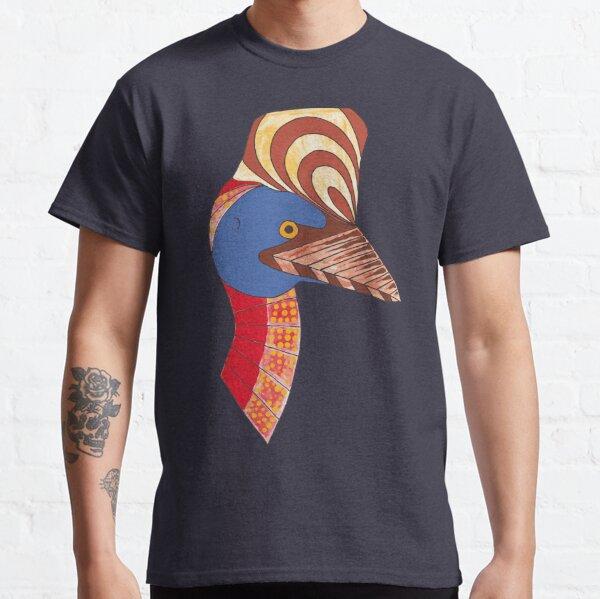 Australian Aboriginal Art - Cassowary Classic T-Shirt