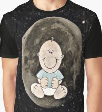 Baby in the moon  Graphic T-Shirt