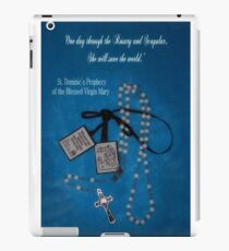 Rosary and Scapular prophesy iPad Case/Skin