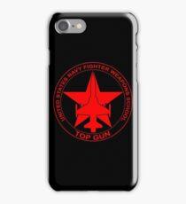 TOP GUN   US Navy Fighter Weapons School (NFWS) Military Emblem iPhone Case/Skin