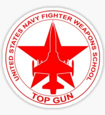 TOP GUN | US Navy Fighter Weapons School (NFWS) Military Emblem Sticker