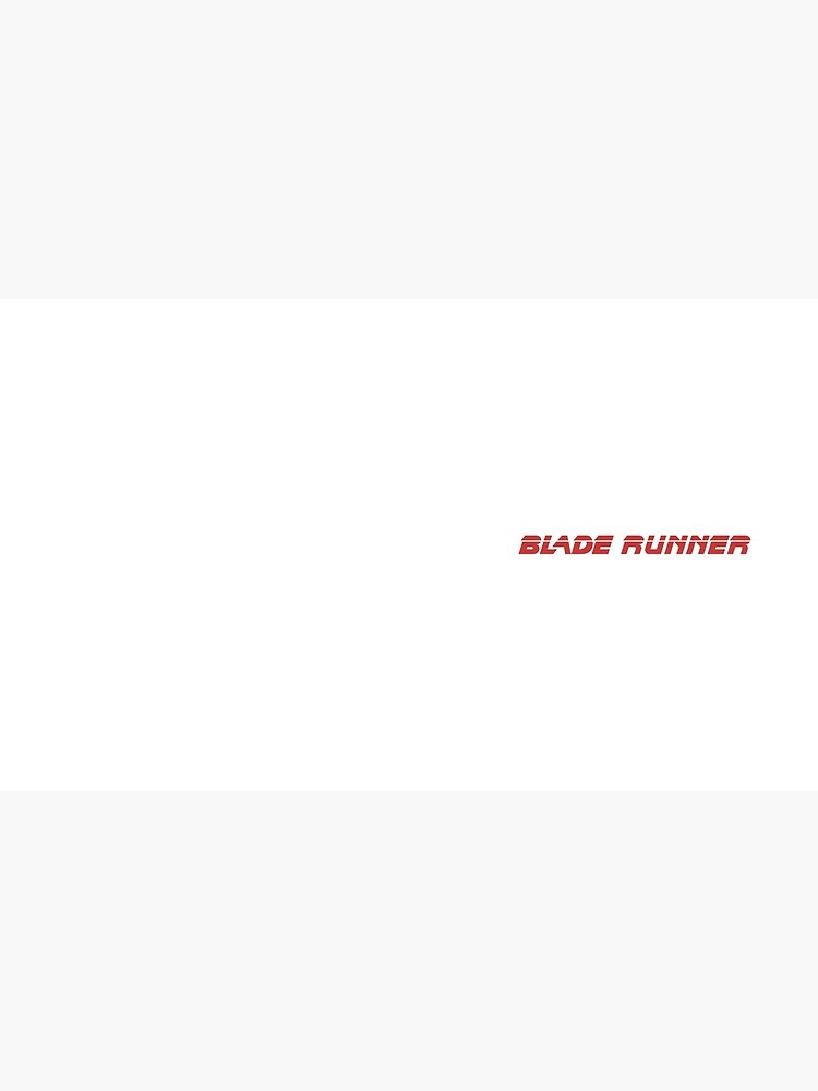 Blade Runner (rojo) de meapineapple
