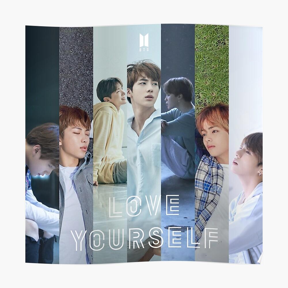 BTS LIEBEN SICH SELBST Poster