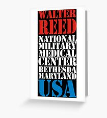 Walter Reed National Military Medical Center Greeting Card