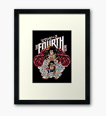 THE FOURTH GEAR ONE PIECE Framed Print