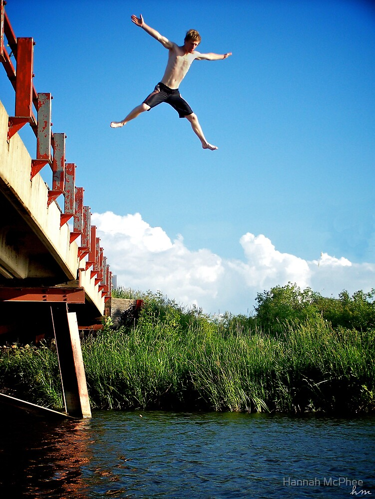 Bridge Jumping by Hannah McPhee