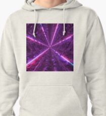 Purple Tunnel Pullover Hoodie
