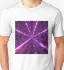 Purple Tunnel Unisex T-Shirt