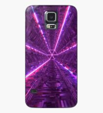 Purple Tunnel Case/Skin for Samsung Galaxy