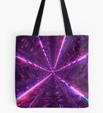 Purple Tunnel Tote Bag