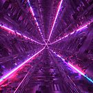 Purple Tunnel by nickjaykdesign