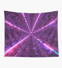 Purple Tunnel Wall Tapestry