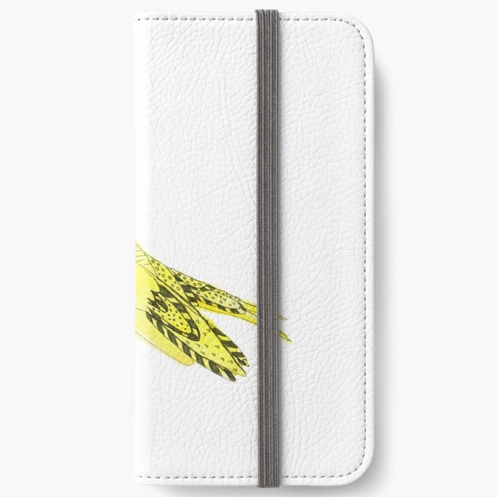 Yellow Soprano Swallow iPhone Wallet
