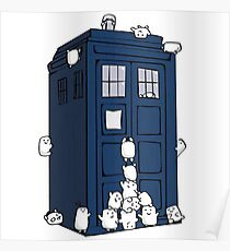The Adipose Have the Phone Box T-Shirt Poster