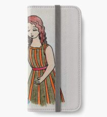 The anointing of Mary of Bethany iPhone Wallet/Case/Skin