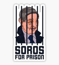SOROS FOR PRISON Sticker