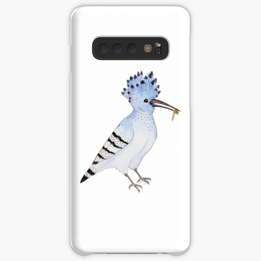 Hungry Azure Hoopoe Case & Skin for Samsung Galaxy