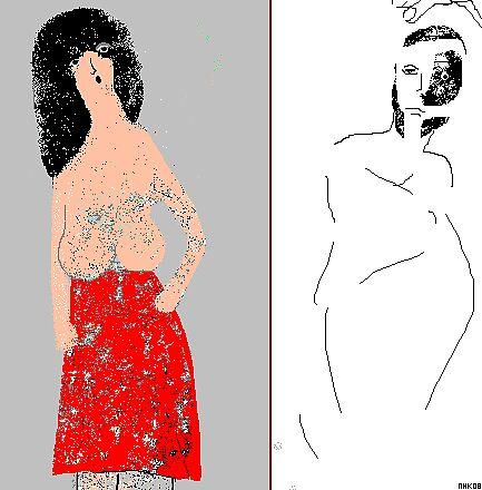red skirt 2 by mhkantor