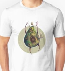 A is for Avocadavero The Haunted Avocado  Unisex T-Shirt