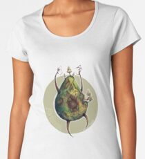 A is for Avocadavero The Haunted Avocado  Women's Premium T-Shirt