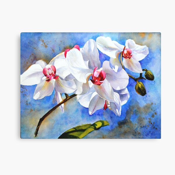 Dancing Orchids Canvas Print