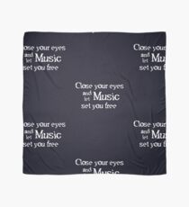 Phantom - 'Close your eyes and let music set you free' Scarf