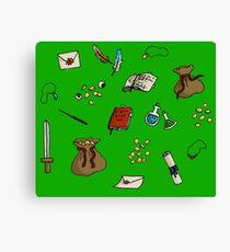 Adventurer's Kit Canvas Print