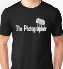 Funny The Photographer Photography Camera T-Shirt