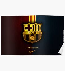 Barcelona fan collection Poster
