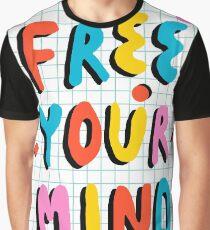Hella' - retro 80's throwback vibes typography neon positivity  Graphic T-Shirt